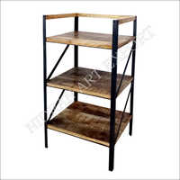 3 Tier Wooden Small Rack