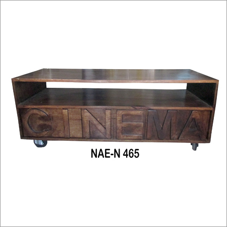Industrial Wooden Cinema TV Cabinet