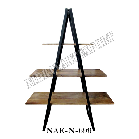 Wooden 3 Tier Bookshelf