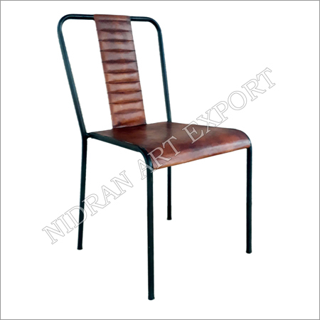 Iron Chair Without Armrest