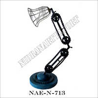 Iron Industrial  Adjustable Table Lamp