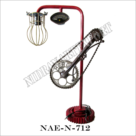 Iron Industrial Cycle Lamp