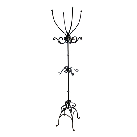 Iron Hanger On Stand
