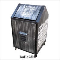 Iron industrial Dust Bin