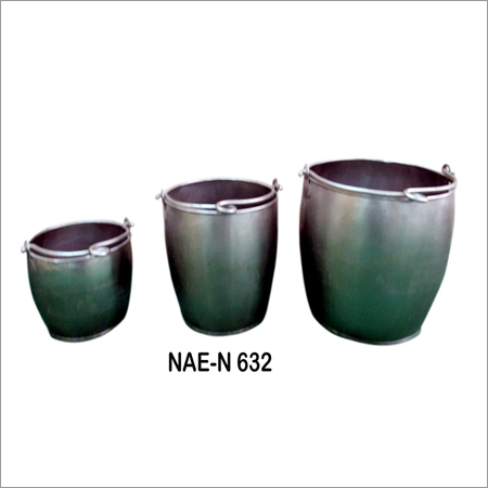 Industrial Pot Set Of Three