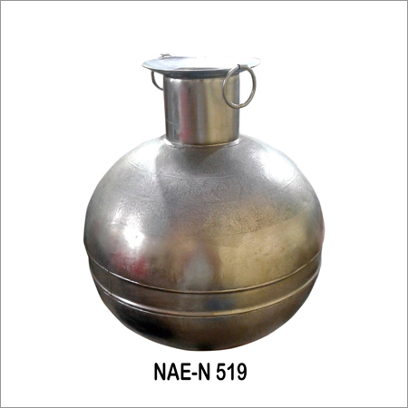 Industrial Iron Pot - Golden