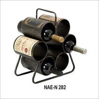 Vintage 6 Bottles Wine Rack