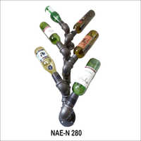 Industrial & Vintage 6 Bottle Wine Rack