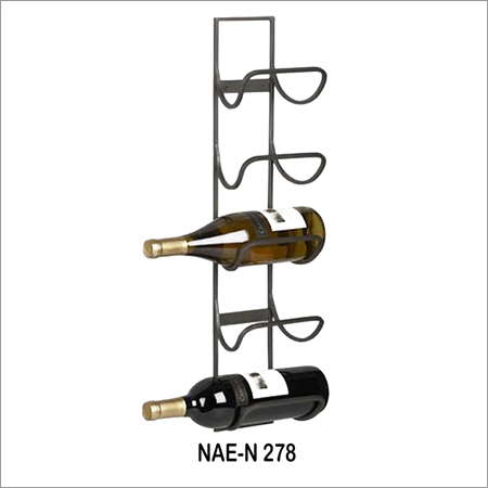 5 Bottle Hanging Wine Rack