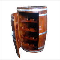 Wooden Wine Storage Drum