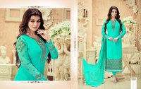 Heavy Embroidery Unstitched Suit