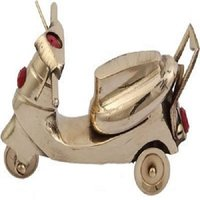 DreamKraft Brass Decorative Activa Nautical Scooter Model vintage