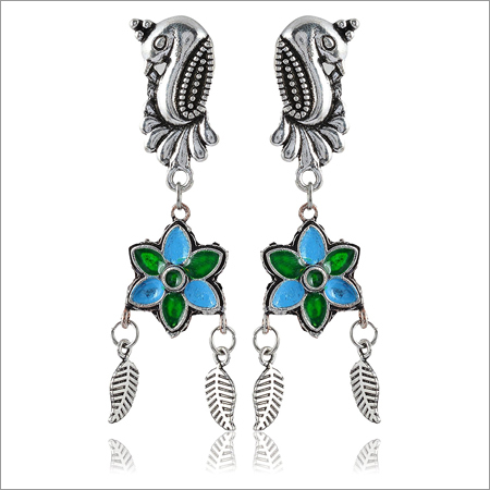 Multi Alloy Dangle & Drop Earrings