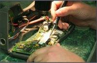 Repair Of Zebra Barcode Printer