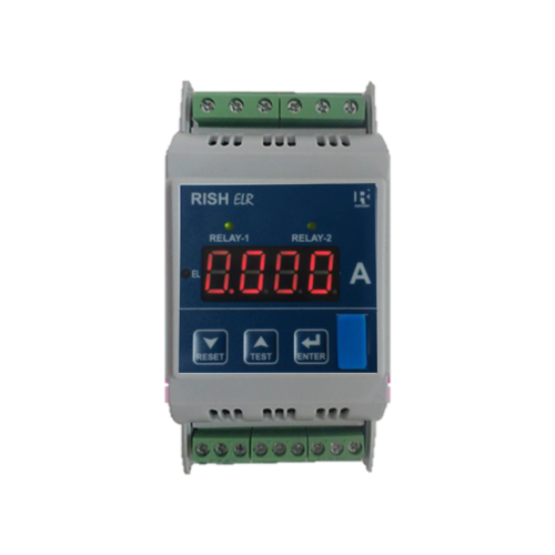 Digital Earth Leakage Relay (DIN Rail)