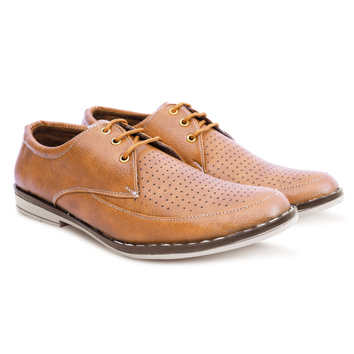 Dark Brown Formal Lace Up Shoes