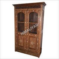 crockery wooden almirah