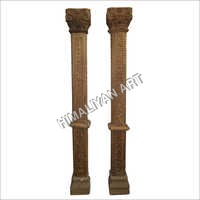 Carved Pillars
