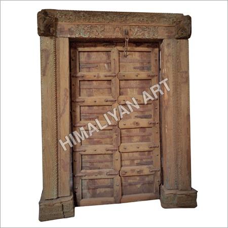 Antique Handcarved Old Door