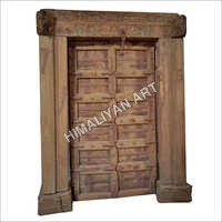 Antique Handcarved Old Door