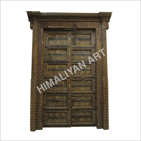 Antique Sangwan Wooden Door