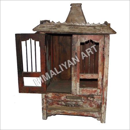 Antique Wooden Temple