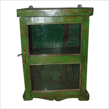 Green Painted Antique Case