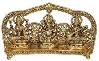 Nexplora Industries Laxmi Ganesh Saraswati Idol Showpiece