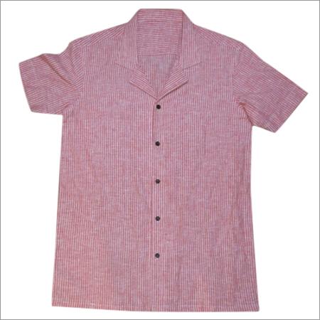 Men's Cotton Half Shirt