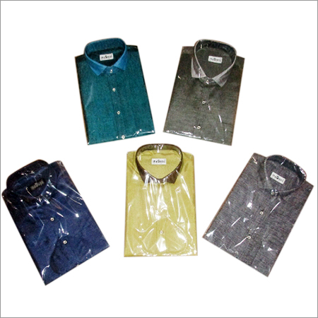 Men's Plain Formal Shirt Set