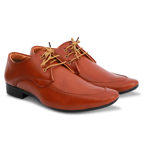 Brown Formal Shoes with Laces