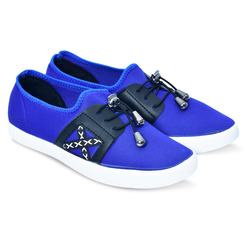 Blue Black Casual Shoes