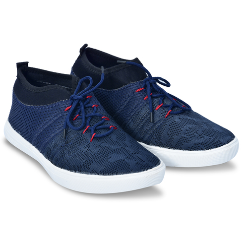 Blue Casual shoes with Laces