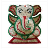 Coconut Coir Ganesh Idol