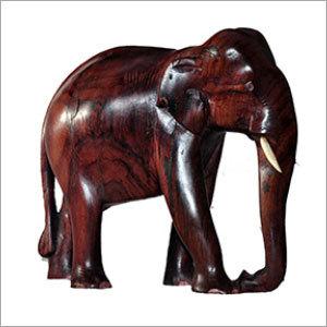 Kerala Wooden Elephant