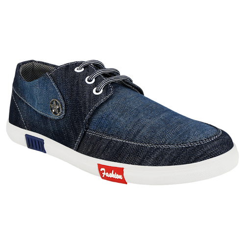 Blue Black Casual Shoes
