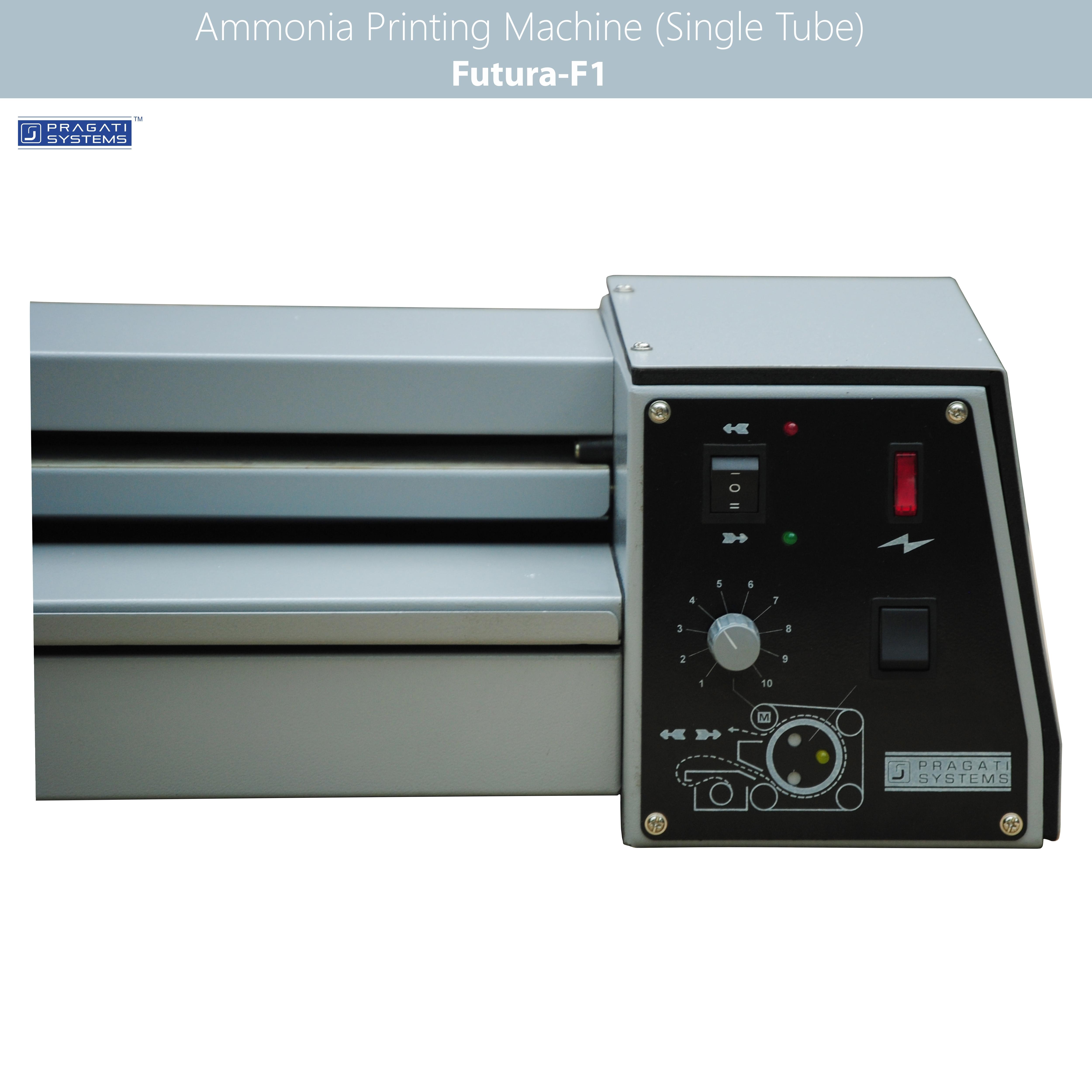 Ammonia Printing & Drafting Machine - Single Tube