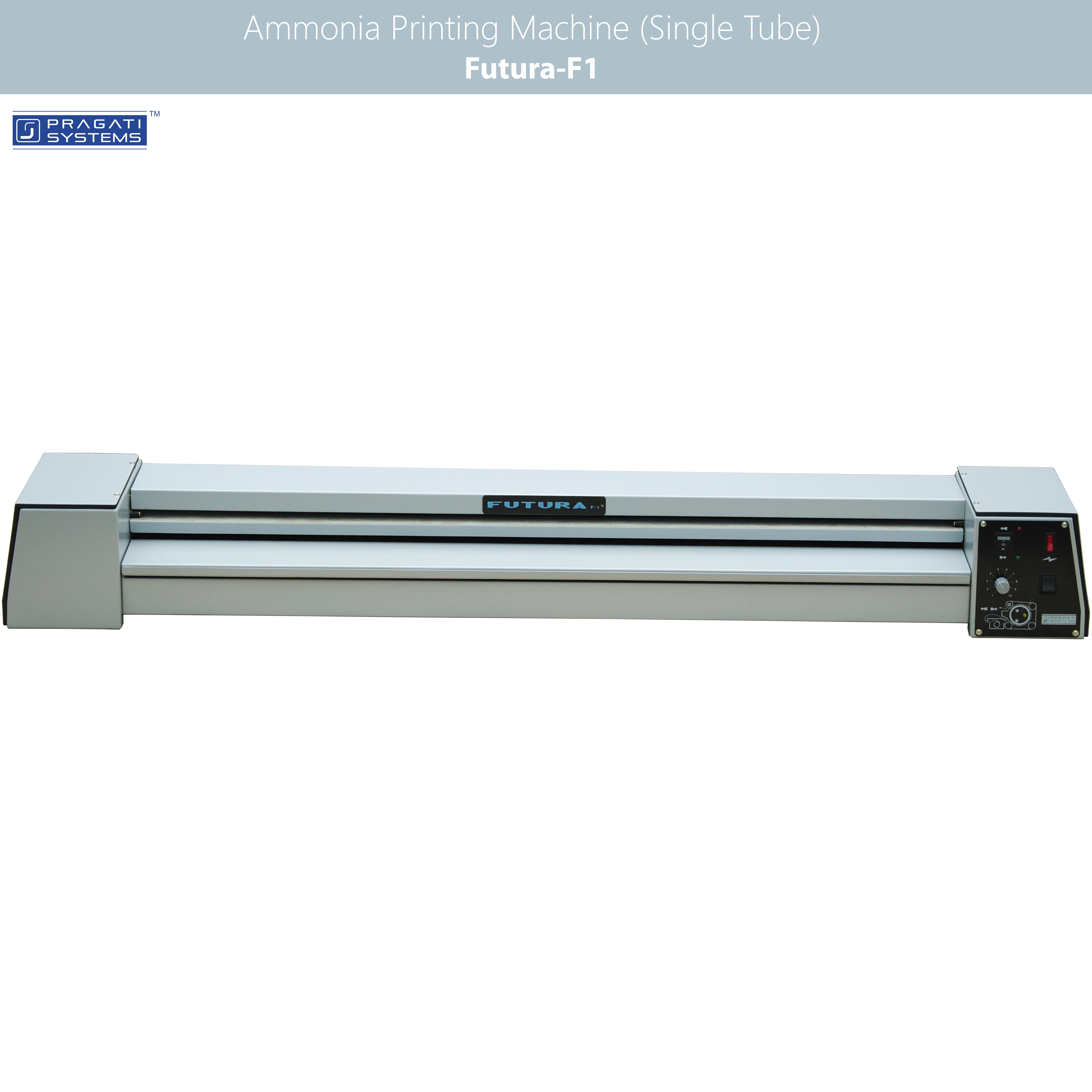 Ammonia Printing & Drafting Machine - Triple Tube