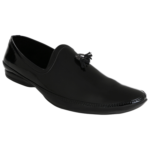 Shiney Black Loafer Shoes
