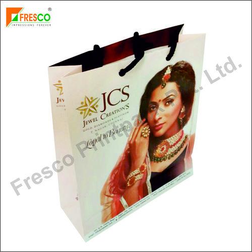 Multi Colors Stylish Jewellery Paper Bag