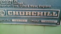 CHURCHILL Gear Hobbing Machine