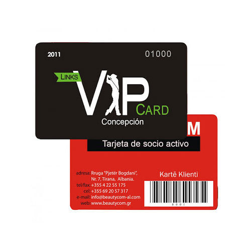 Barcode Membership Cards