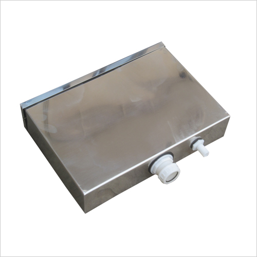 Stainless Steel Cistern with Dual Flush Internal Fitting