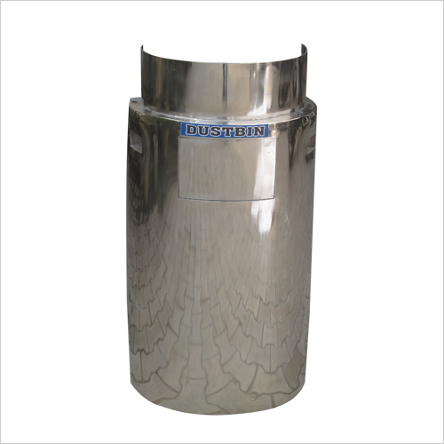 Stainless Steel Dustbin (for Railway)
