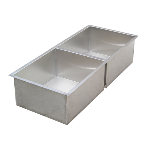 Stainless Steel Hand Made Double Bowl  Sink