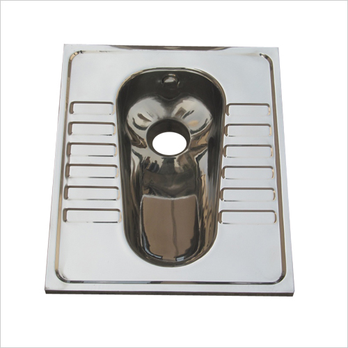 Stainless Steel Lavatory Pan Flush Type