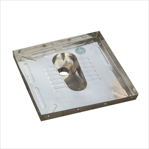 Stainless Steel Lavatory Pan With Floor