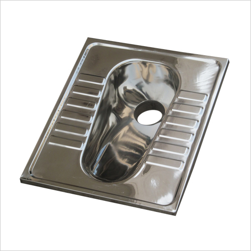 Stainless Steel Lavatory Pan without  Flush Type Model No. SSLP 211