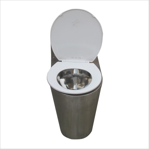 Stainless Steel Prison  Toilet