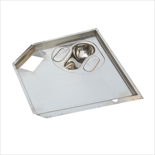 Stainless Steel Toilet Pan with Floor For Railway)